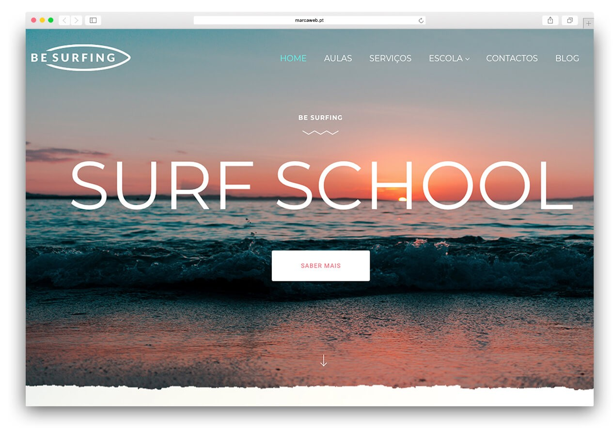 Be Surfing